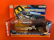 Aw Auto World 4 Gear Nhra Top Fuel Dragster Parts Plus Clay Millican Slot Car.