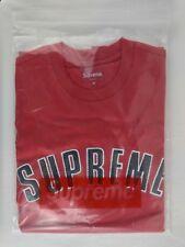 Supreme FW18 Printed Arc S/S Short Sleeve Top T-Shirt Crewneck Men's Size Medium
