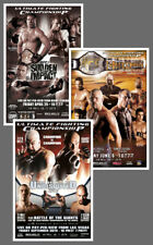 Historic Licensed UFC POSTERS 13x19 Reproduction Collection: #42, 43, 44 (2003)