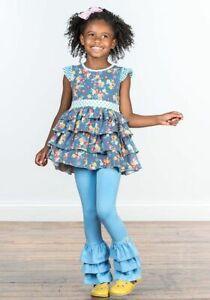 Matilda Jane Always A Performer Bennys Leggings Size 4 6 8 10 Pants New In Bag