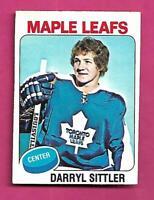 1975-76 OPC # 150 LEAFS DARRYL SITTLER EX+ CARD (INV# D3009)