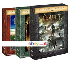 LO HOBBIT TRILOGIA EXTENDED EDITION (15 DVD) COFANETTI SAGA COMPLETA ESTESA