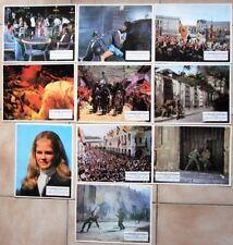 LES DERNIERS AVENTURIERS 10 photos d'exploitation AZNAVOUR DE HAVILLAND BERGEN