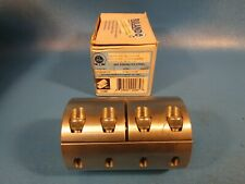 """Ruland SPC-24-24SS, 303 Stainless, Two-Piece Coupling 1-1/2"""" x 1-1/2"""", 17269"""