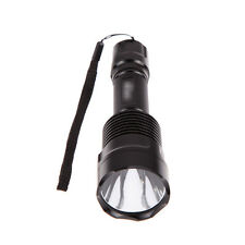 2000Lm C12 CREE XM-L2 U3 Brass Copper Base 10x7135 LED Aluminum Flashlight Torch