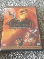 The Lion King DVD Platinum Edition 2 Disc Set Disney