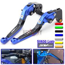 Motorcycle Handlebar Folding Extend Brake lever Clutch For SUZUKI SV650 99-09