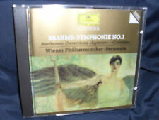 Brahms – Symphonie No. 1 / Beethoven - Ouverturen -Wiener Phil. / Bernstein