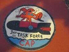 WWII USAAF AUX CIVIL AIR PATROL 3 RD TASK FORCE  FLIGHT JACKET PATCH