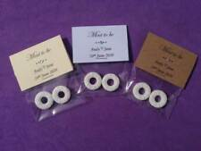10 x Personalised Mint to Be Wedding Favours Thank You Gift  Engagement