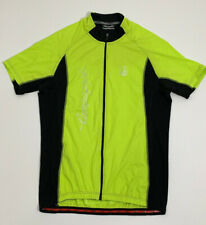 Men's CAMPAGNOLO Size XXL 2XL Cycling Jersey Neon Yellow
