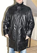 manteau parka en cuir noir homme HUGO BOSS nori TAILLE 50 (L) EXCELLENT ÉTAT 22362ad36f13