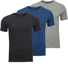 Mens Brave Soul T-Shirt Plain Casual Designer Crew Neck Top T Shirts Shirt