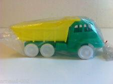 Ancien jouet en plastique - Camion benne style Renault Fainéant Vintage 20 Cm
