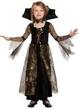 Disfraces de niña de color principal negro de vampiros