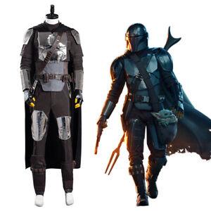 The Mandalorian Season 2 S2 Cosplay Costume Beskar Armor Uniform Full Set