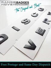Land rover DISCOVERY 3D capó Letras Insignias letras GRIS BRUNEL 3 4 DISCO
