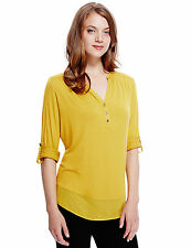 Marks and Spencer Viscose Collared Tops & Shirts for Women