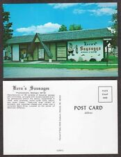 Old Michigan Postcard - Kern's Sausages, Delicatessen - Frankenmouth