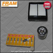 SERVICE KIT for HONDA JAZZ 1.4 I-DSI FRAM OIL AIR FILTER PLUGS GD1 GE3 2004-2008