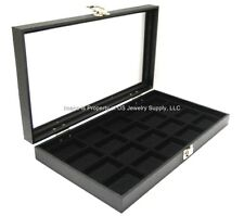 Key Lock Locking 20 Space Jewelry Sales Collectors Storage Display Case