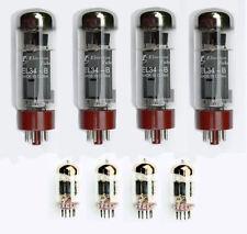 Valve kit for Yaqin MC10-L amplifier EL34 6N1P E88CC
