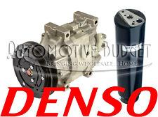 A/C Compressor w/Clutch Kubota *FREE DRIER*- SCSA06C 1GR 122mm 12v - NEW OEM