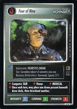 STAR TREK CCG THE BORG RARE CARD FOUR OF NINE