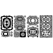 ZEBRA PRINT PICTURE FRAMES 52 BiG Wall Decals POLKA DOT Room Decor BLACK Sticker