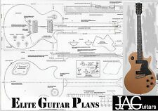 Luthiers Project Plan/Drawing for Gibson Les Paul Special guitar   P023
