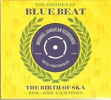 THE HISTORY OF BLUE BEAT THE BIRTH OF SKA BB26 - BB50 A & B SIDES - 3 CD BOX SET