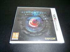 RESIDENT EVIL REVELATIONS NINTENDO 3DS BRAND NEW FACTORY SEALED