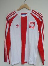 2011 adidas Originals Poland Polska Football Euro 2012 T Shirt L/s Sz S