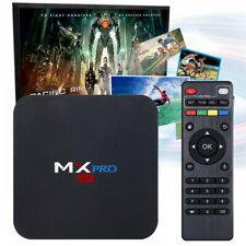 MXQ MX PRO UHD 4K S905X Android 7.1 Quad Core WiFi 8GB Media Player Smart TV Box