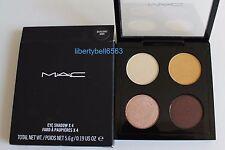 MAC Cosmetics EYE SHADOW x 4 QUAD - Devilishly Dark -FULL SIZE -New In Box