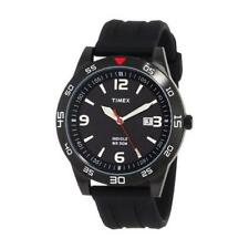 Timex Men's Sport Collection Analogue Watch Black Stainless, Resin .(T-2N694-9J)