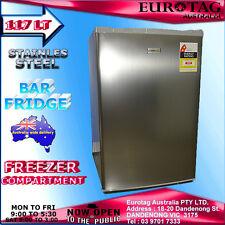 EUROTAG EU-103RW 117L Stainless Steel  BAR FRIDGE BRAND NEW RRP$345.00
