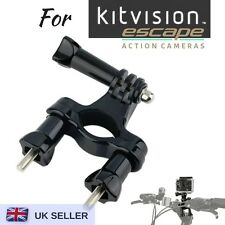 Bike Handle bar Mount Bicycle Clamp For Kitvision Escape 4KW HD5W HD5 Action Cam