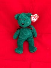 2001 Holiday Teddy Ty Beanie Babies DOB Dec-24-2000 Style 4395 As Pictured