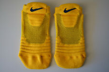 Yellow Nike Elite Versatility Ankle Basketball PSX466 Cushioned Socks Sz. M, 6-8