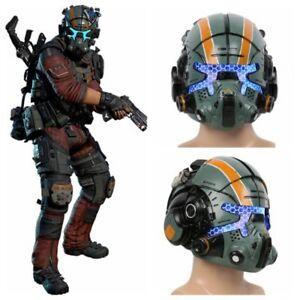 Jack Cooper Helmet Titanfall 2 Cosplay Mask Costume Prop Halloween Party Mens