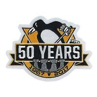 Official Pittsburgh Penguins 50th Anniversary Jersey Patch 2016/17 Season