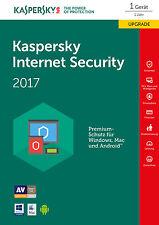 Kaspersky Internet Security 2017 für 1 PC 2 Jahre