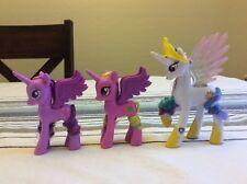 My Little Pony G4 Lot Of 3 Princess Twilight Sparkle Cadence Celestia