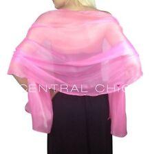 Écharpes et châles étole rose pour femme