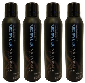 Sebastian - Dry Clean Only Dry Shampoo 4.9 oz (Pack of 4)