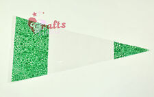 """25 Quality """"Green"""" Cone Cellophane Sweet 