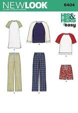 NEW LOOK PATRON COUTURE FEMMES' & hommes tenue d'intérieur pantalons top Courtes