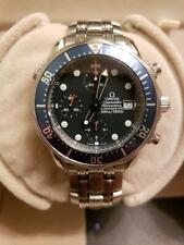 Omega Seamaster Professional Chronograph 300M 2599.80 Blue Wave Automatic Watch