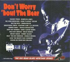 V/A Don't Worry 'Bout The Bear 2xCD Blues SNOOKY PRYOR Doctor Ross LIGHTNIN SLIM